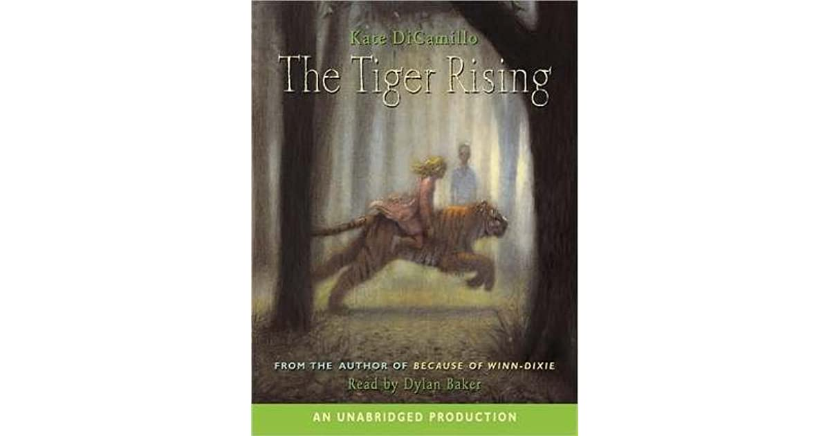 The Tiger Rising By Kate Dicamillo 4 Star Ratings