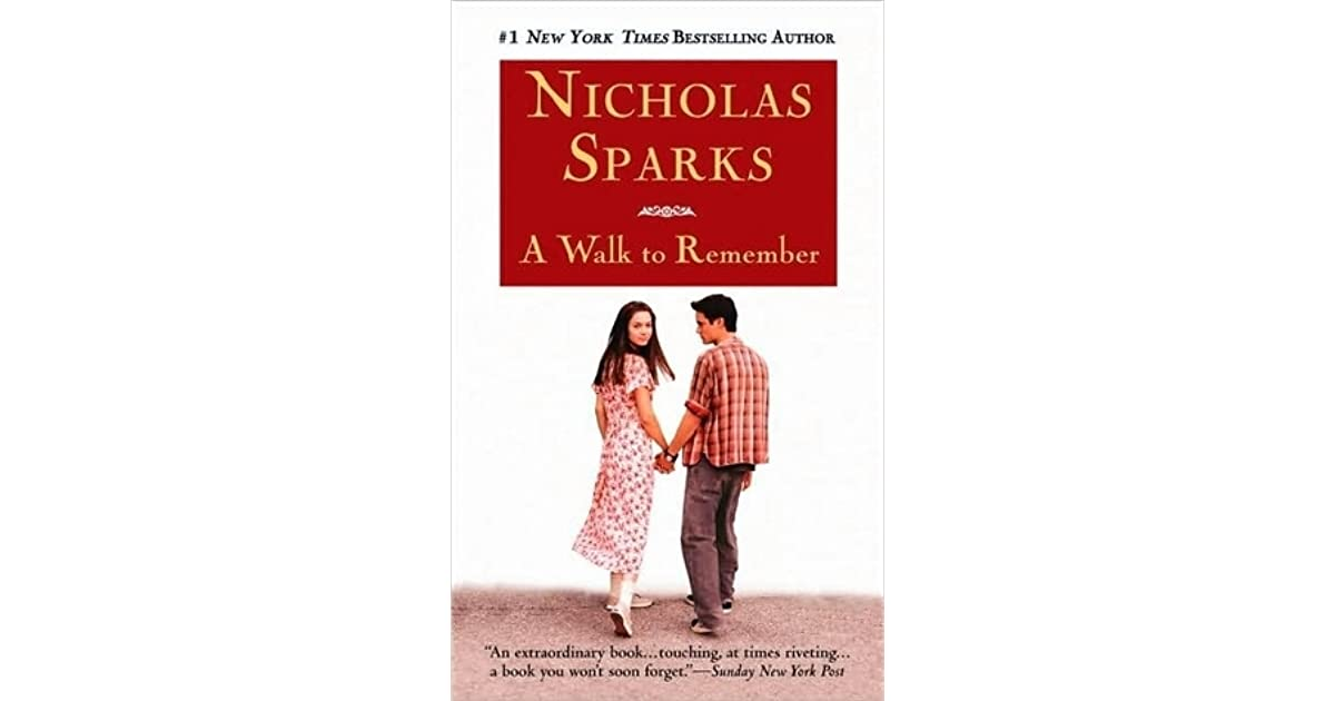 novel walk to remember Today we will share the link of a walk to remember novel it was published in 1999 the author of this romantic work of fiction is nicholas sparks.