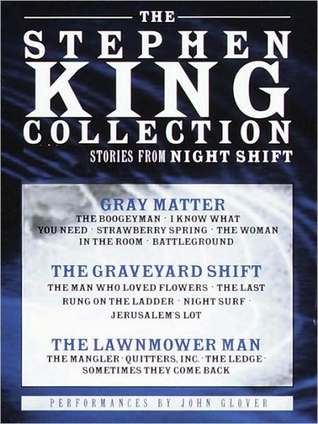 Stephen King Value Collection: Lawnmower Man, Gray Matter, and Graveyard Shift
