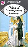 Man Of Consequence by Jane Wilby