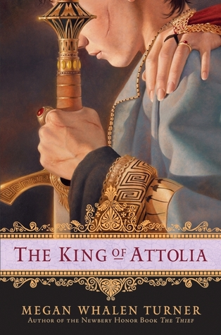 Jacket cover for The King of Attolia