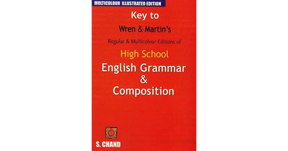 Wren Martin English Grammar Book Pdf
