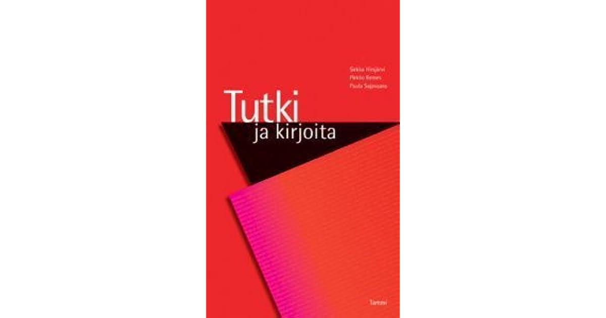 Tutki Ja Kirjoita Hirsjärvi