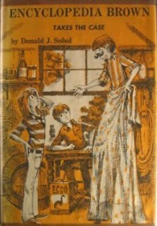 Image result for encyclopedia brown takes the case book cover