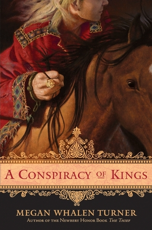 Jacket cover for A Conspiracy of Kings