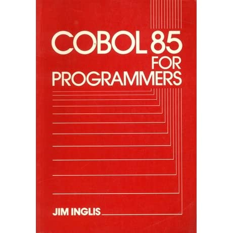 Cobol 85 for programmers investment forex news tv online
