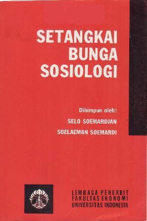 setangkai bunga sosiologi by selo soemardjan