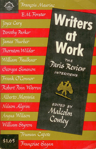 Writers at Work: The Paris Review Interviews, First Series book cover