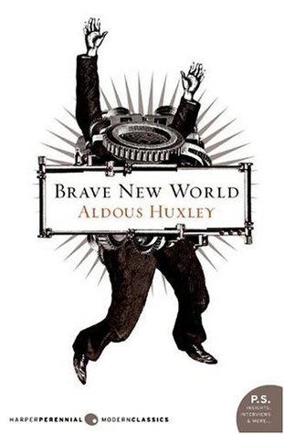 Cover of the book, Brave New World by Aldous Huxley