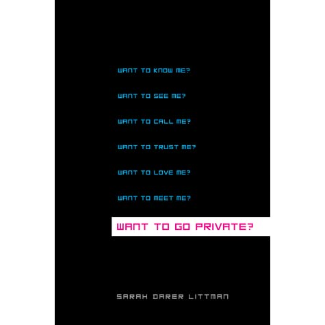 Want to Go Private? by Sarah Darer Littman