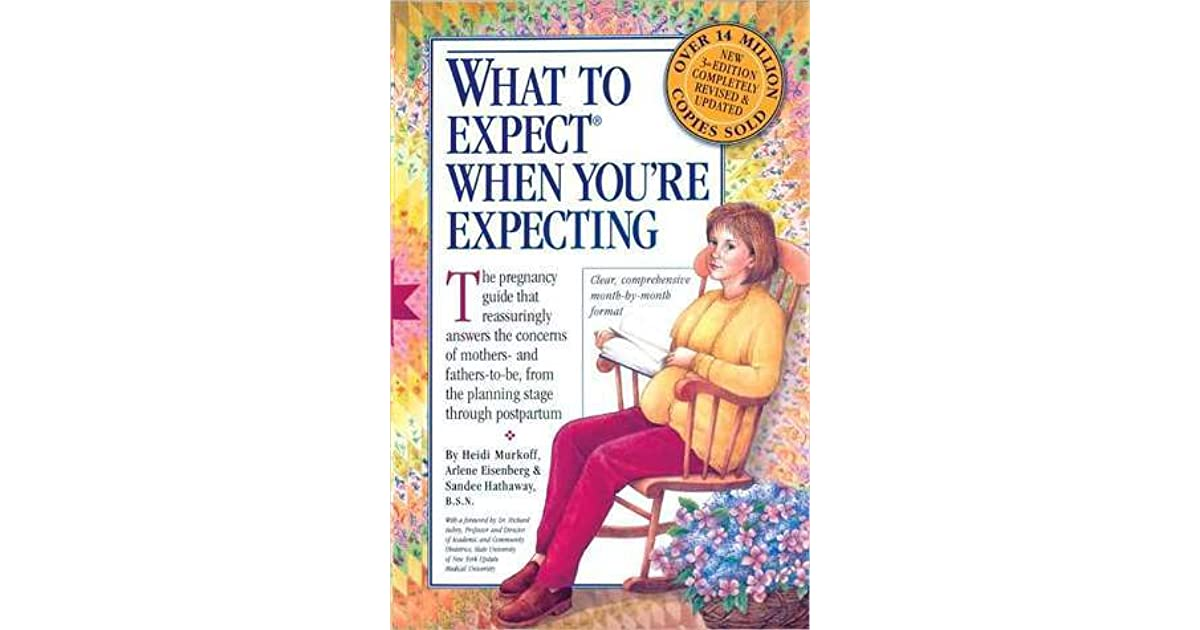 Book youre pdf expect expecting what when to