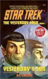 Yesterday's Son (Star Trek: The Original Series #11; The Yesterday Saga, #1)