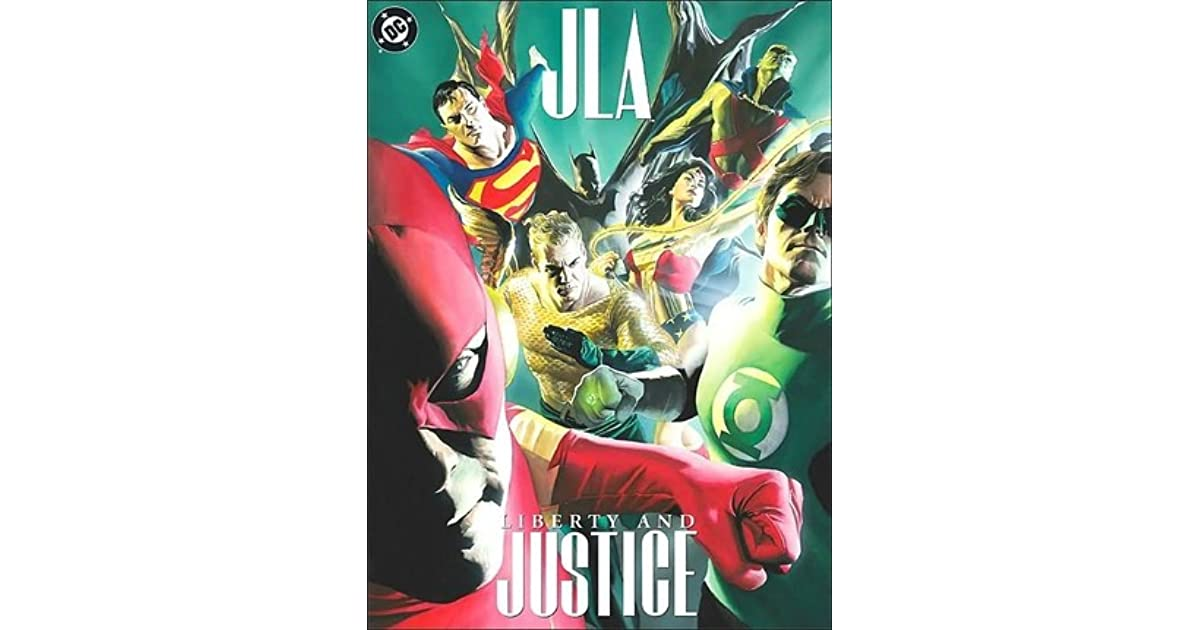 Jla Liberty And Justice By Paul Dini