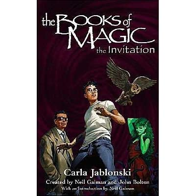 688578._UY400_SS400_ the invitation (the books of magic, 1) by carla jablonski,The Invitation A Novel
