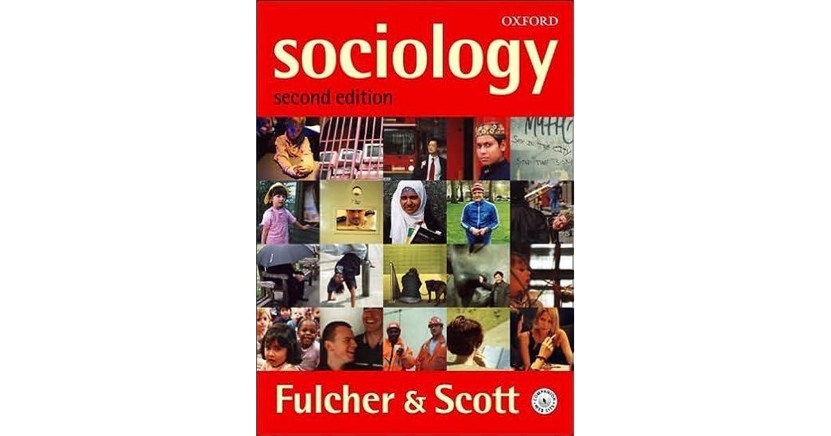 FULCHER AND SCOTT SOCIOLOGY EBOOK DOWNLOAD