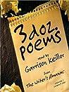 3 Dozen Poems: From the Writer's Almanac