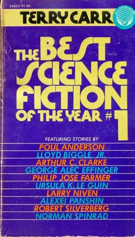 The Best Science Fiction of the Year 1 by Terry Carr