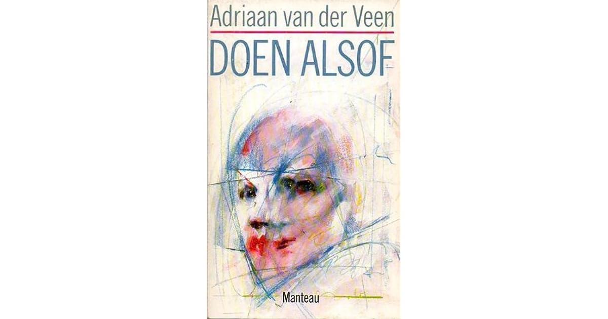 Doen Alsof By Adriaan Van Der Veen