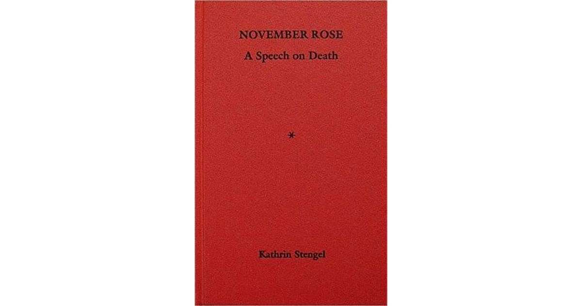 a speech about death