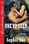 One to Keep (Nights in Bliss, Colorado, #3) audiobook review