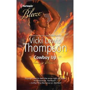 cowboy up thompson vicki lewis