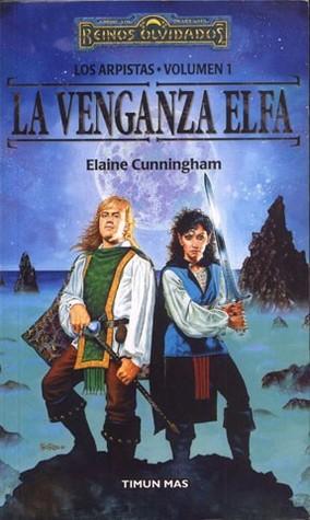 portada de la novela de fantasía épica La venganza elfa, de Elaine Cunningham