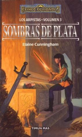 portada de la novela de fantasía Sombras de plata, de Elaine Cunningham