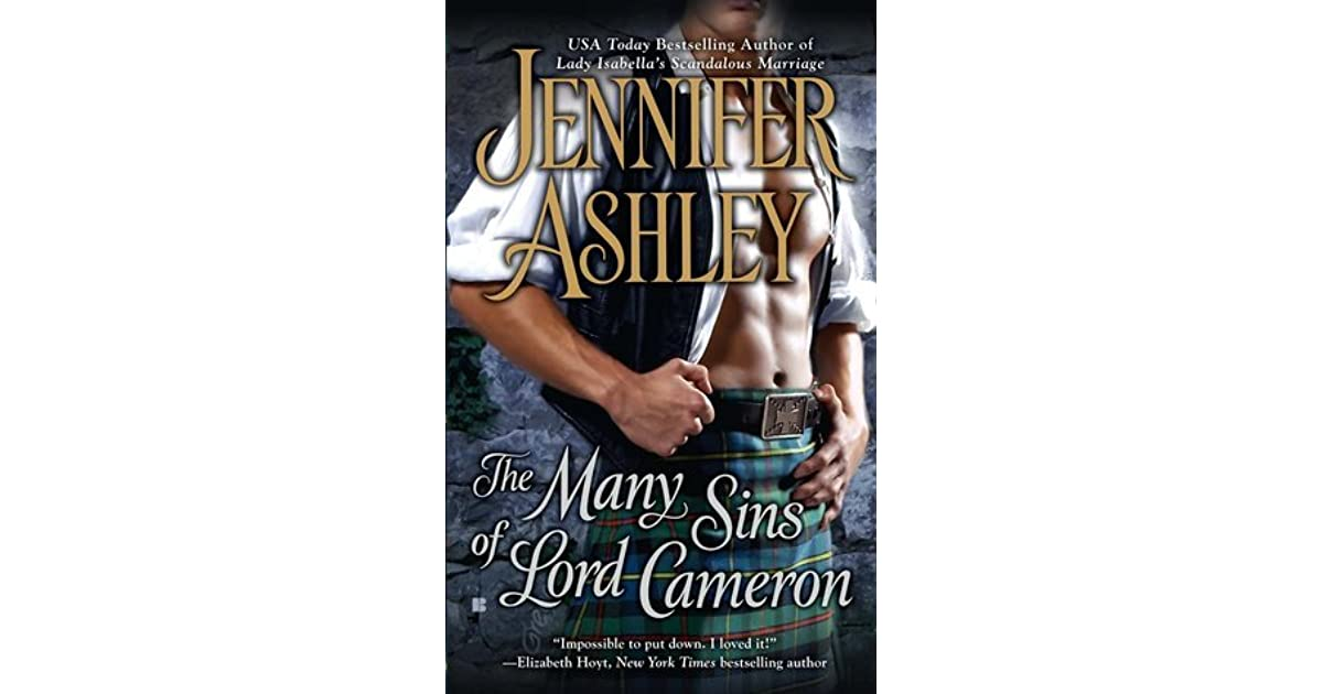 The Many Sins of Lord Cameron by Jennifer Ashley (2011, Paperback) MacKenzies #3