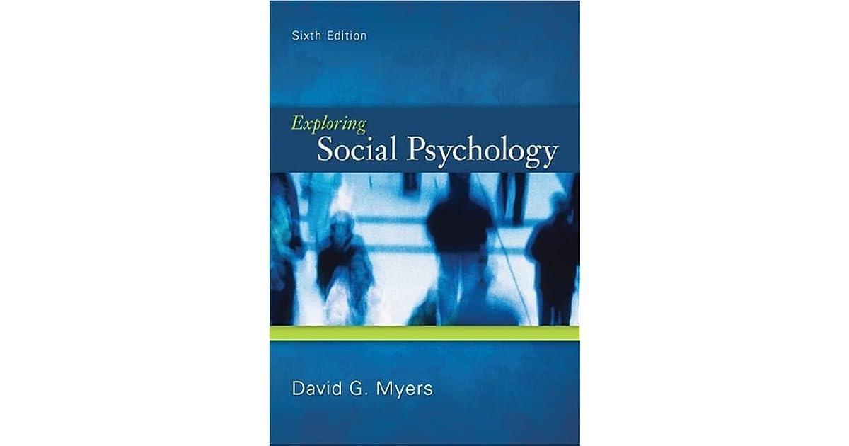 Exploring Social Psychology 7th Edition Pdf