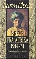 Breve Fra Afrika: 1914-31