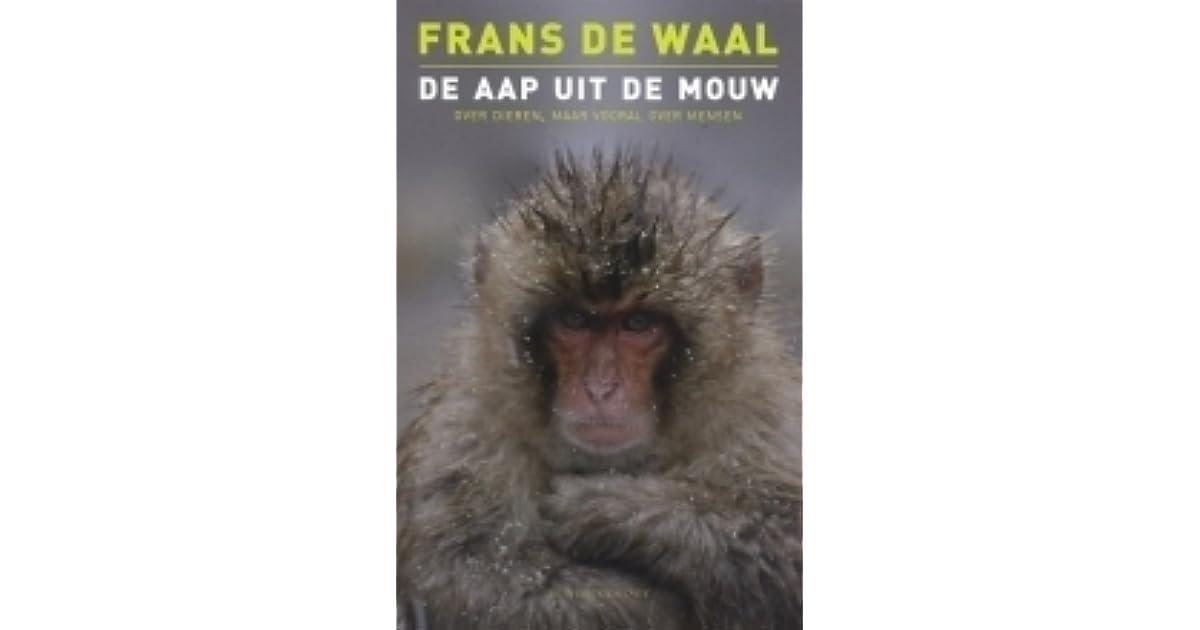 d5e4a263afc De aap uit de mouw: over dieren maar vooral over mensen by Frans de Waal