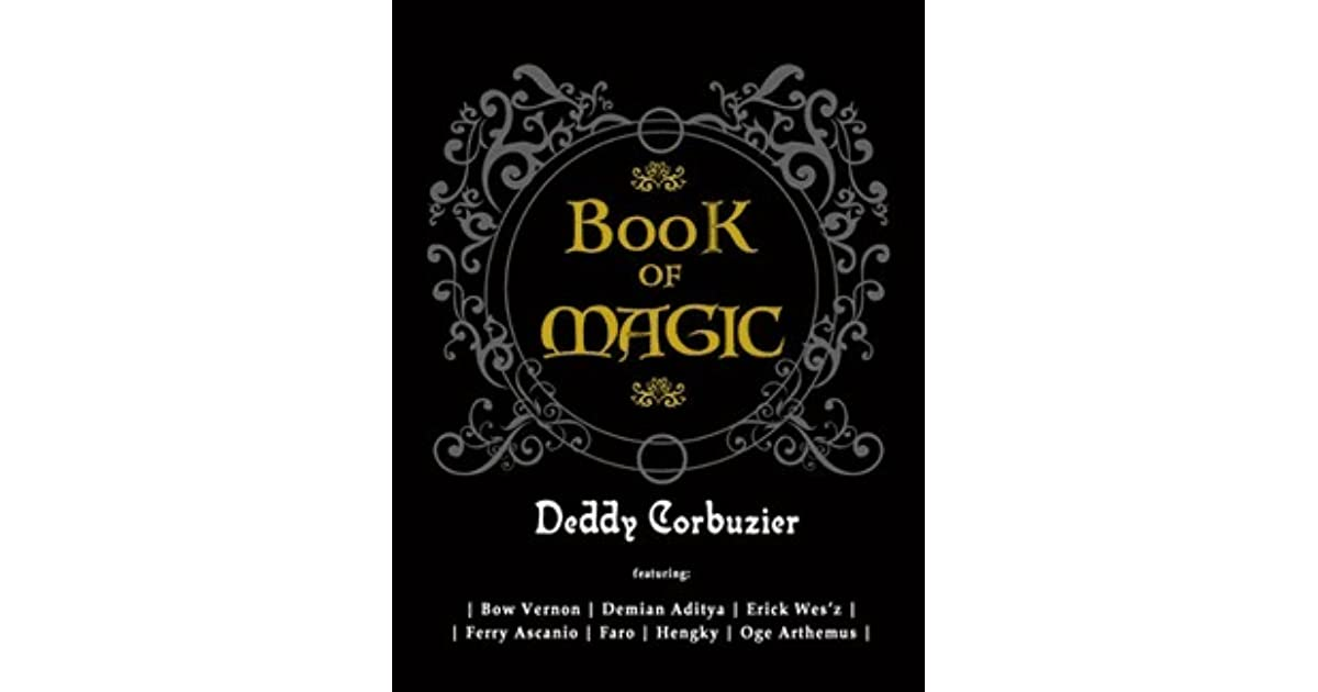 Buku Book Of Magic Deddy Corbuzier