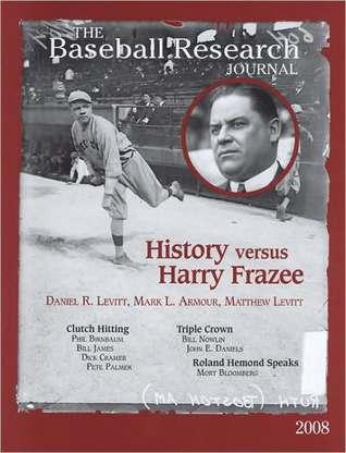 The Baseball Research Journal (BRJ), Volume 37