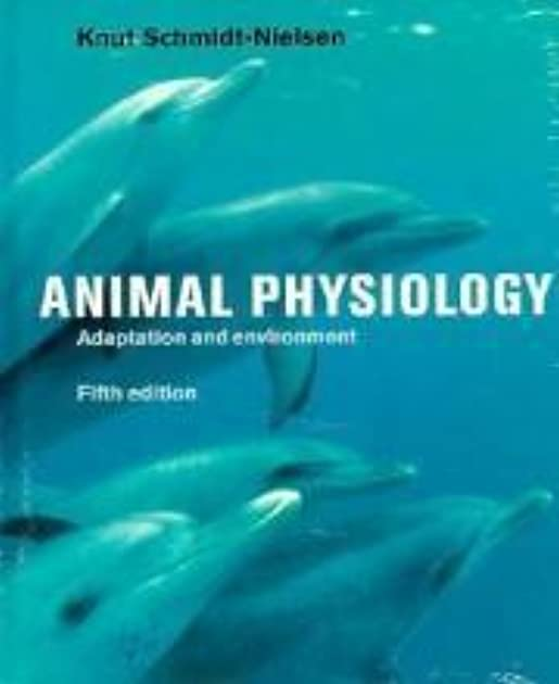 animal physiology adaptation and environment ebook