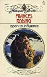 Open to Influence by Frances Roding