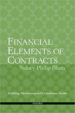Financial Elements of Contracts  Drafting, Monitoring and Compliance Audits