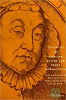 Selected Poetry and Prose: A Bilingual Edition (The Other Voice in Early Modern Europe)