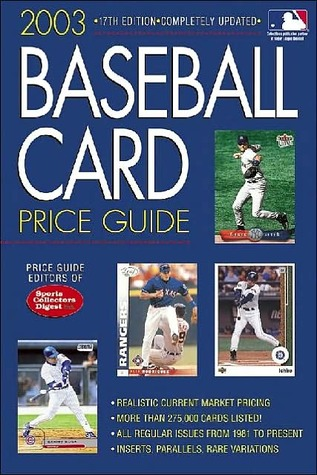 Baseball Card Price Guide By Price Guide Editors Of Sports