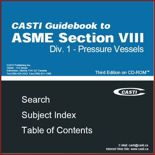 Casti Guidebook to ASME Section VIII Division 1 - Pressure Vessels