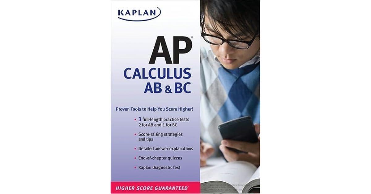 Kaplan AP Calculus AB & BC by Tamara Lefcourt Ruby