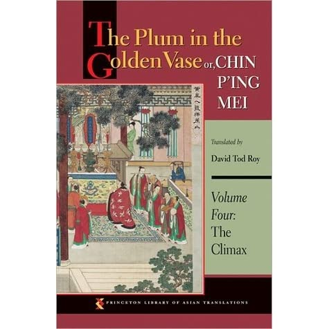 The Plum In The Golden Vase Or Chin Ping Mei Volume Four The
