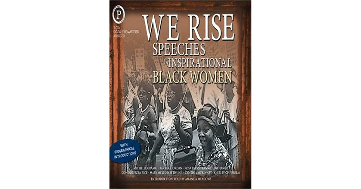 We Rise Sches By Inspirational Black Women