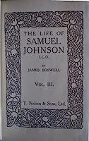 The Life of Samuel Johnson LL.D. Vol 3