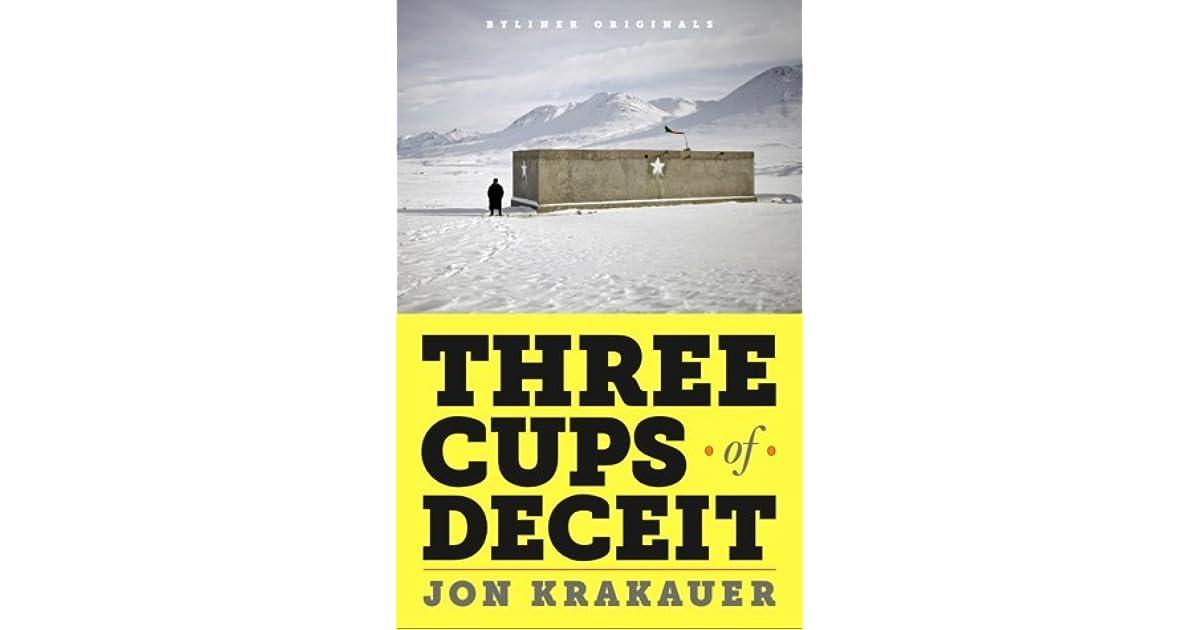 Three Cups Of Deceit PDF Free Download