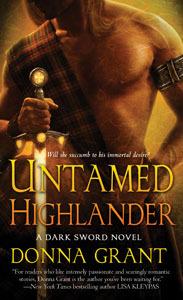 Untamed Highlander (Dark Sword, #4)