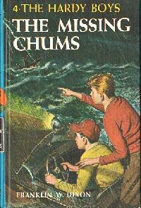 The Missing Chums (The Hardy Boys, #4)