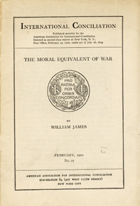 The Moral Equivalent of War & Other Essays/Some Problems of Philosophy