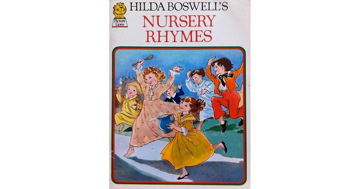 Hilda Boswell S Treasury Of Nursery Rhymes By Hilda Boswell