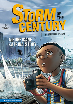 Storm of the Century: A Hurricane Katrina Story (Graphic Flash Graphic Novels)