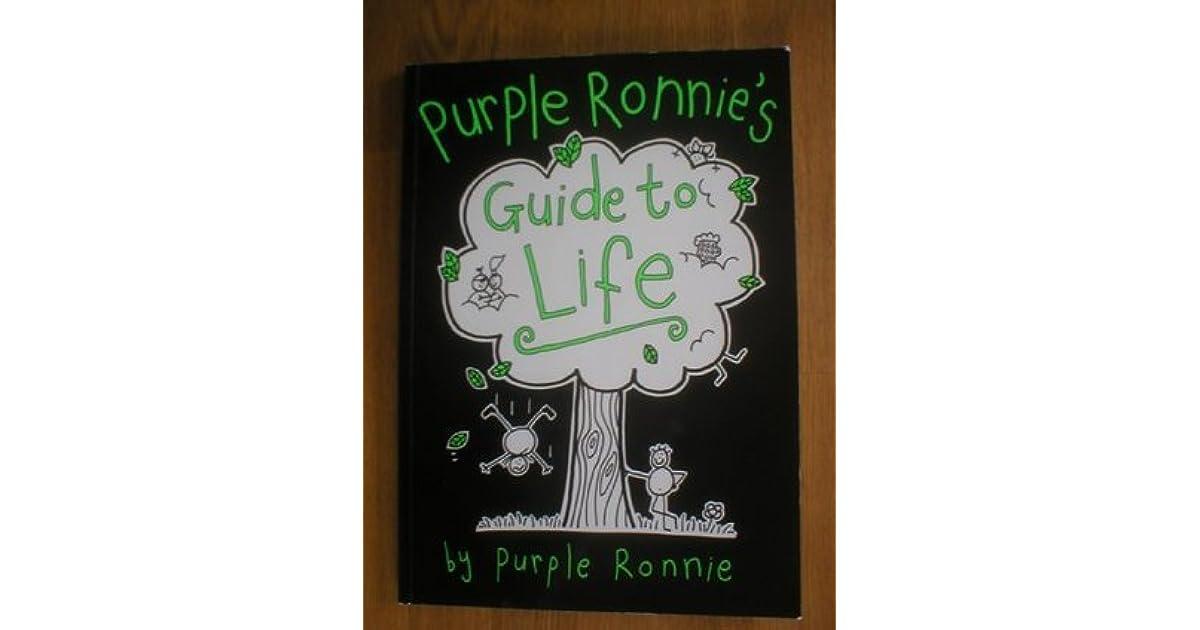 purple ronnie's guide to lifepurple ronnie